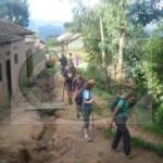 Crossing rural Africa